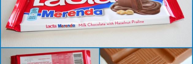 Σοκολάτα Lacta Merenda – Νέο προϊόν