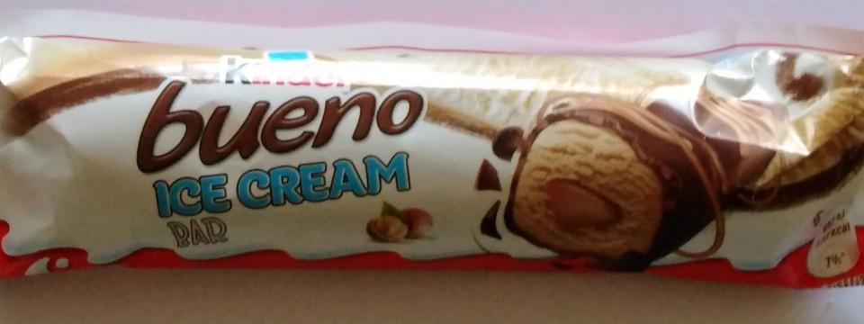 Μπάρα παγωτού Kinder Bueno (νέο προϊόν)