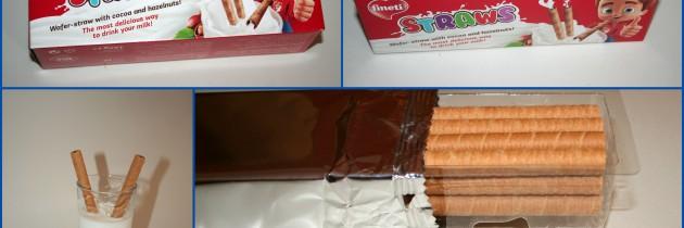 Fineti Straws – Γκοφρέτα καλαμάκι με κακάο και φουντούκια (Νέο προϊόν)