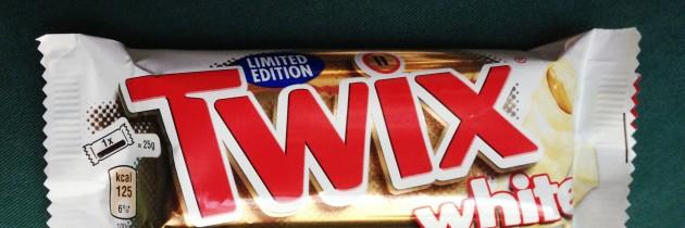 Twix με λευκή σοκολάτα