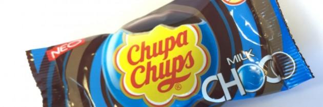 Κουφέτα Chupa Chups γεμιστά με σοκολάτα γάλακτος (νέο προϊόν)